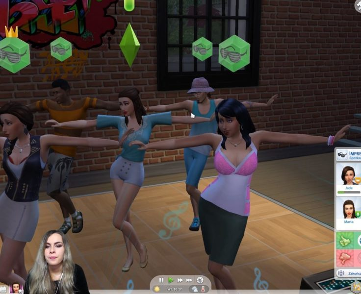 STREAM NATION, THE SIMS 4, ODC. 06