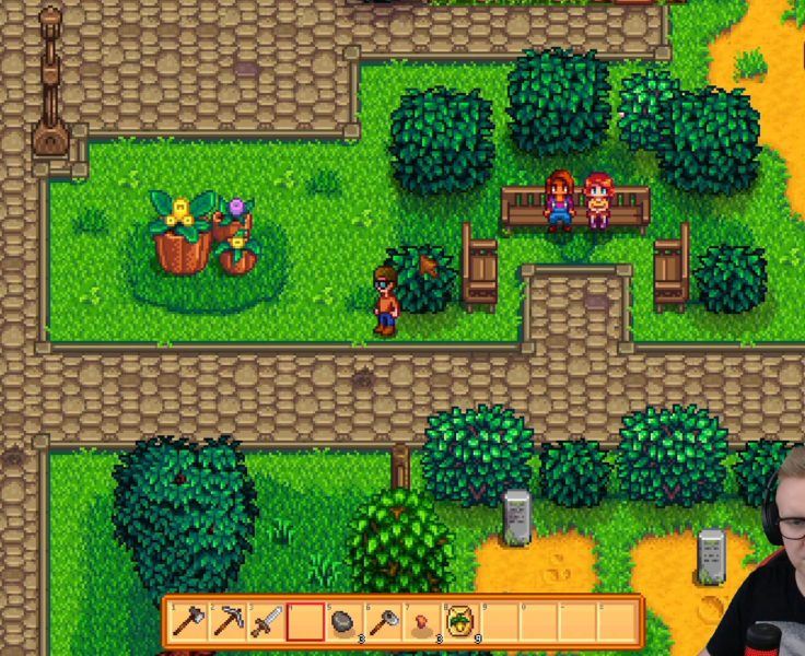 STREAM NATION, STARDEW VALLEY, ODC. 09