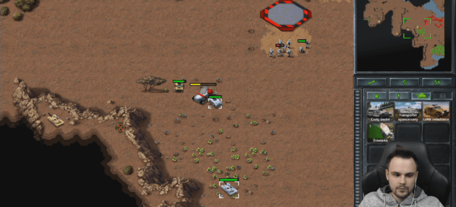 STREAM NATION, COMMAND AND CONQUER REMASTERED, ODC. 13